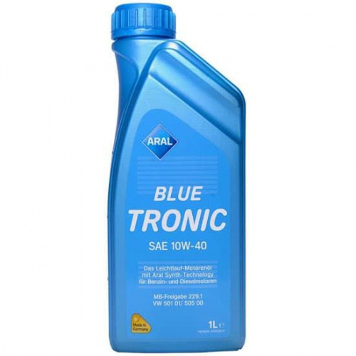 Моторное масло Aral Blue Tronic 10W40 1L