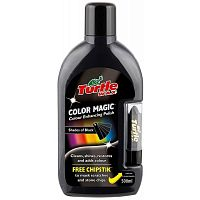 Полироль Turtle Wax Color Magic черный 500ml