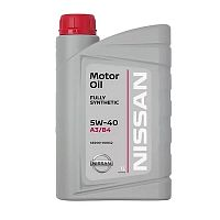 Моторное масло Nissan Motor Oil 5W-40 1L