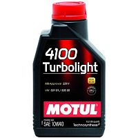 Моторное масло Motul 4100 Turbolight 10W-40 1L