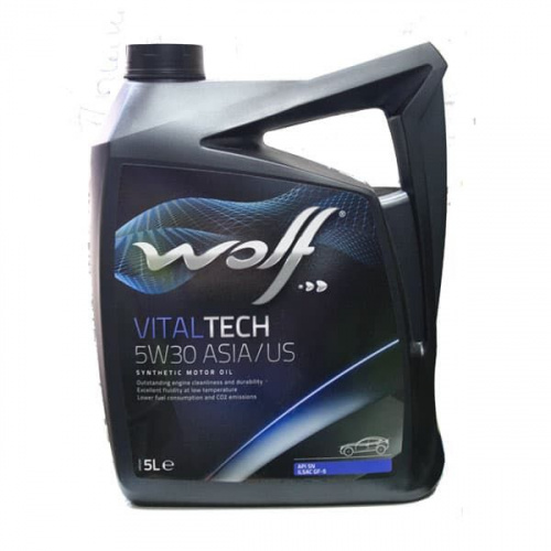 Моторное масло Wolf 5W30 Vitaltech ASIA/US 5L