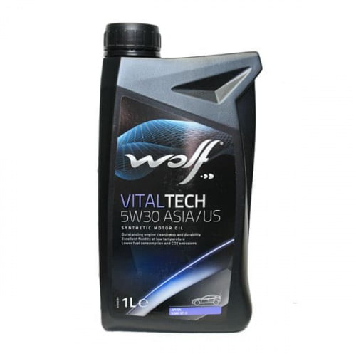 Моторное масло Wolf 5W30 Vitaltech ASIA/US 1L