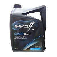Моторное масло Wolf 10W40 Guardtech B4 5L